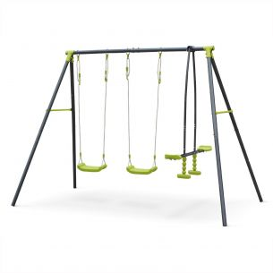 Tramontane Tramontane 3-piece swing set, 4-seat set, swing, outdoor play equipment