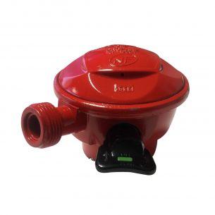 Détendeur Quick-On Propane Détendeur NF pour consigne de gaz Quick-On ⌀27mm Propane, 37Mbar sortie M20x1,5mm,sécurité, Clip-On