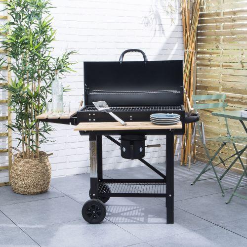 Alice's Garden Barbecue américain Charbon de Bois Serge