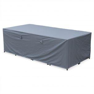 CUBO12 ET VASTO12 Housse de protection 230x112cm gris foncé polyester pour tables de jardin Vasto 12 Cubo 12