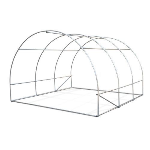 Thym Thym 9m² polyethylene tunnel greenhouse for growing fruit and vegetables