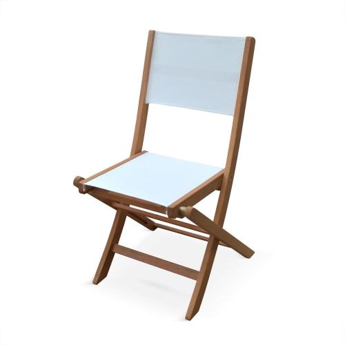 Sedie In Legno Da Giardino.Lotto Di 2 Sedie Da Giardino In Legno Modello Almeria 2 Sedie