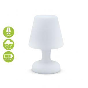 Lampada da tavolo LED 26CM lampada da tavolo a LED 26cm, luce esterna resistente all'acqua, ricarica senza fili