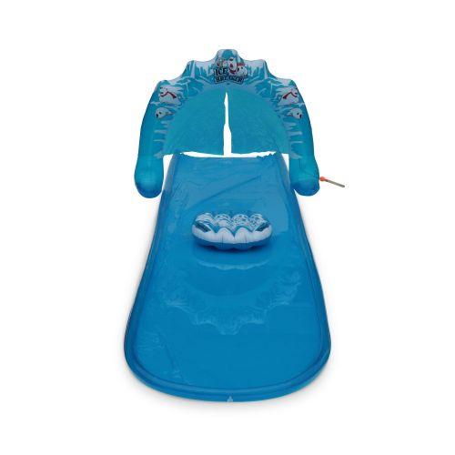 TIBO ICE Tapis de glisse à eau 5 m TIBO ICE avec planche de surf gonflable, ventriglisse