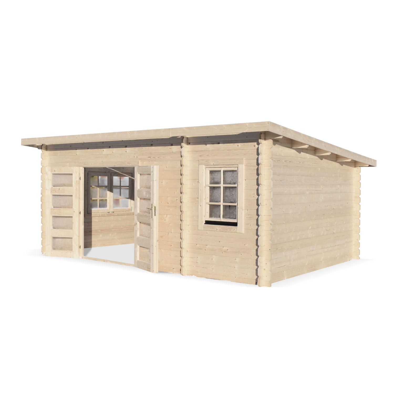 Construire Un Abri A Velo abri de jardin moderne randan en bois fsc de 21 m², sapin