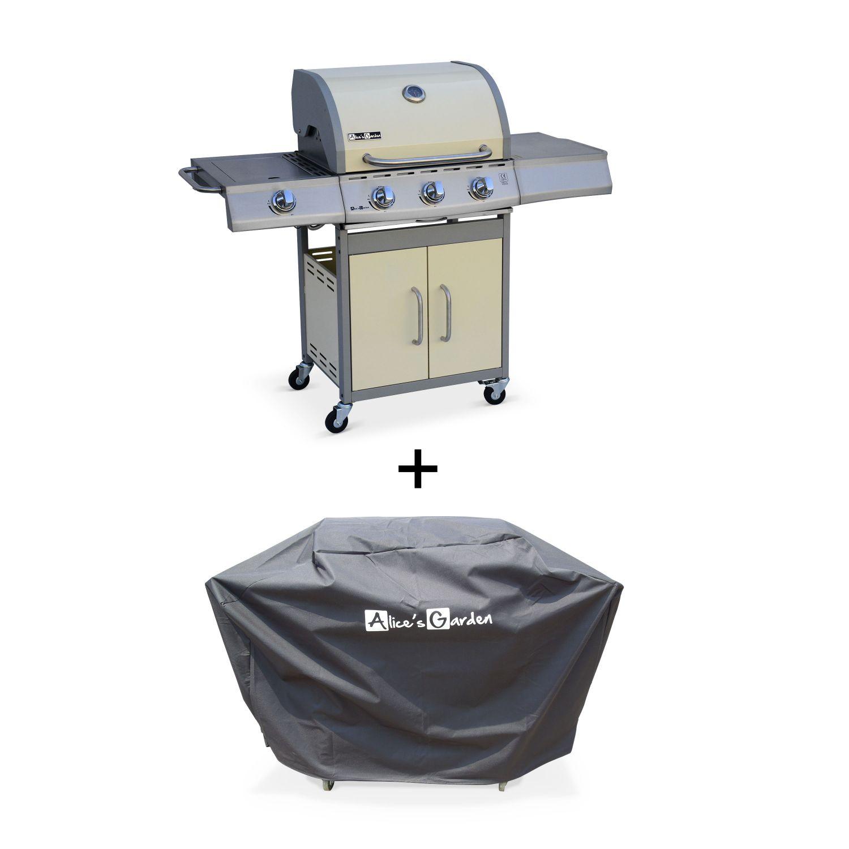 Barbecue Ou Plancha Que Choisir barbecue gaz inox 14kw – richelieu ivoire – barbecue 3