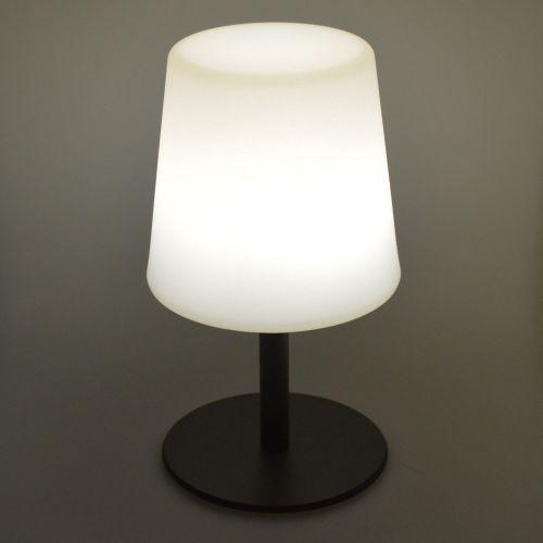 LAMPADA S COLOR LAMPADA S COLOR - Lampe de table LED de 28cm anthracite - Ø 16cm