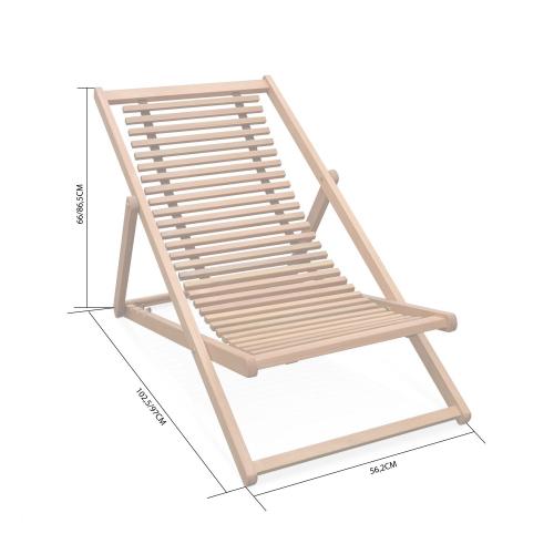 licht duurzame service koop de nieuwste houten strandstoelen