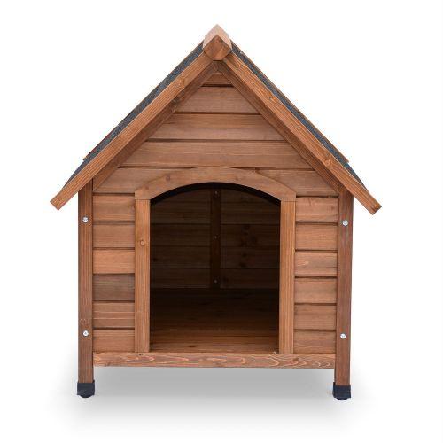 COCKER Niche pour chien en bois COCKER M, cabane pour chien 69 x 65 x 76cm