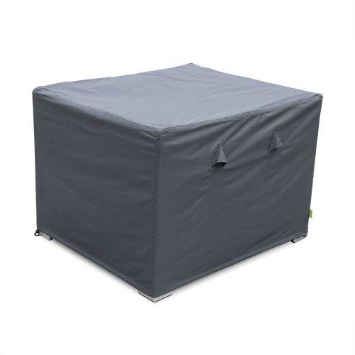 Genova / Brescia Housse de protection gris foncé pour fauteuil de jardin Genova - Bâche toile Oxford en polyester enduit PA