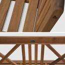 Banco Banco wooden bench 120 x 60 cm